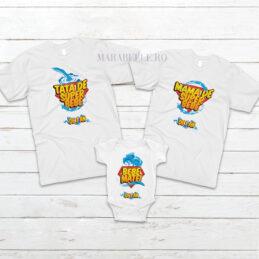 Tricouri Super Bebe pentru aniversări
