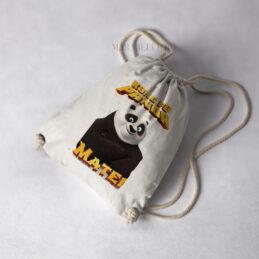 Rucsac personalizat Kung Fu Panda pentru copii
