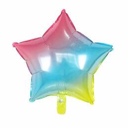 Baloane Curcubeu Degrade în Formă De Stea